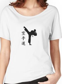 Karate Kung Fu  Women's Relaxed Fit T-Shirt