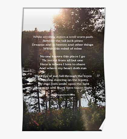 A Poem For Katie Poster