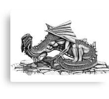 Chaos Dragon Canvas Print