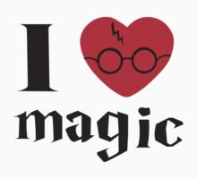 Harry Potter. I heart magic by Tardis53