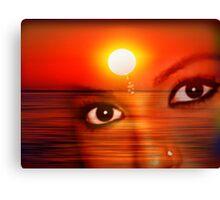 Sunset 12 Canvas Print