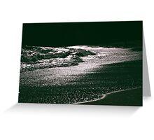 Silver Seas Greeting Card