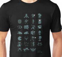 Alphabetical Poster Unisex T-Shirt