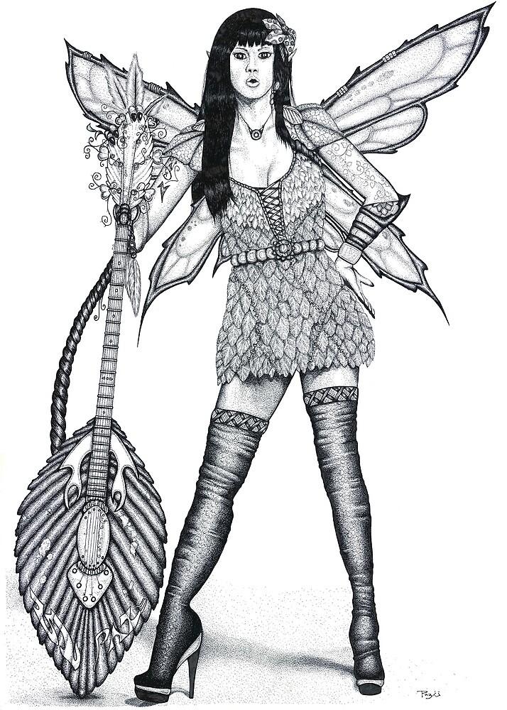 Guitar Fairy by Paul Stratton