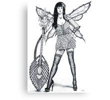Guitar Fairy Canvas Print