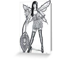 Guitar Fairy Greeting Card