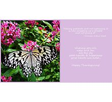 Giving Thanks... Photographic Print
