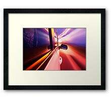 Speed 2 Framed Print