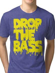 Drop The Bass (Melt) [yellow] Tri-blend T-Shirt