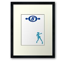 Space Channel 5 Retro Shirt Framed Print
