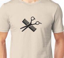 Comb & Scissors Unisex T-Shirt
