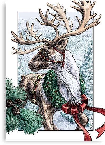 The Holiday Courier by Stephanie Smith