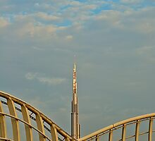 Burj Khalifa dawn by Ian Mitchell