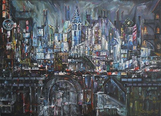 City Lights by Stefano Popovski
