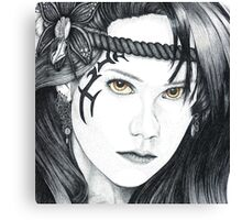 Amazon Warrior (square version) Canvas Print