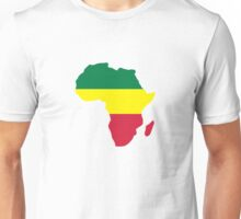 Africa map reggae Unisex T-Shirt