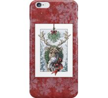 Mistletoe Messenger iPhone Case/Skin