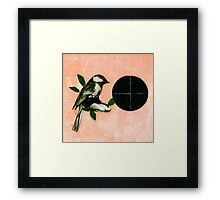 waiting for the night Framed Print