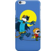 Funny Batman And Robin iPhone Case/Skin