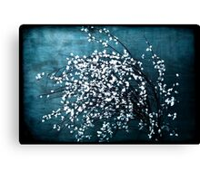 White Flowers Canvas Print