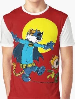 Funny Batman And Robin Graphic T-Shirt