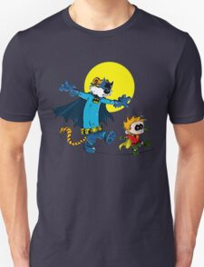 Funny Batman And Robin Unisex T-Shirt