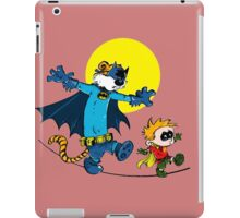Funny Batman And Robin iPad Case/Skin