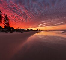 Stunning sunset by Aamie