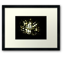 Firefly in Water Framed Print