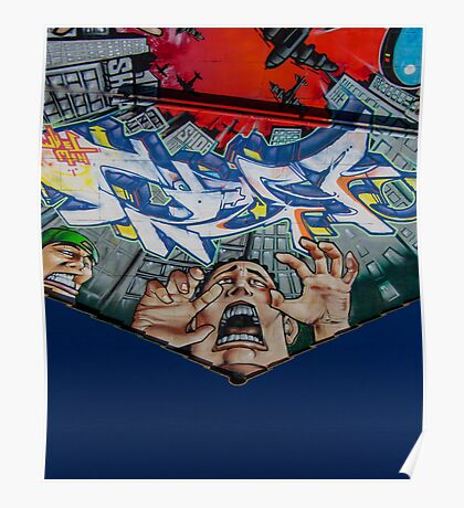 Bomb art Poster