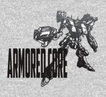 Armored Core Sketch - Ryu Original Tee by Reverendryu