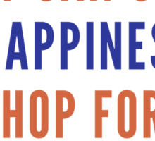 Buy Happiness Sticker