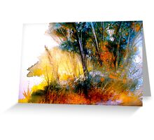 Wild Thicket.. Greeting Card