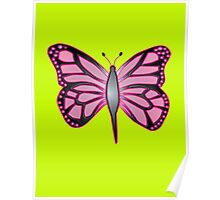 Butterfly Barbie Poster