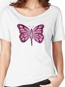 Butterfly Barbie Women's Relaxed Fit T-Shirt