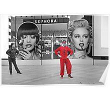 Red Shanghai Dancer Poster
