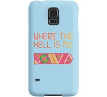 Where the hell is my HOVERBOARD Samsung Galaxy Case/Skin