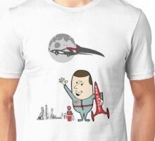 Red Rocket Ad  Unisex T-Shirt