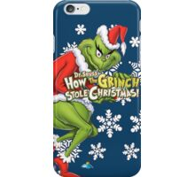 Grinch Christmas iPhone Case/Skin