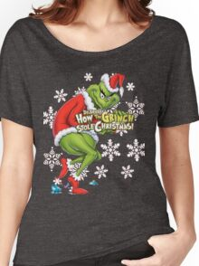 Grinch Christmas Women's Relaxed Fit T-Shirt