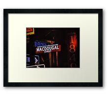 Bleeker Street Framed Print