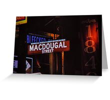 Bleeker Street Greeting Card
