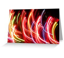 Abstract Dance I Greeting Card