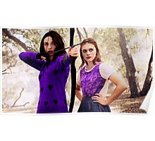 Purple Allydia Poster
