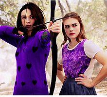 Purple Allydia by Dakota Gabrielle