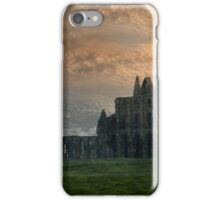 Whitby Abbey Ruins iPhone Case/Skin