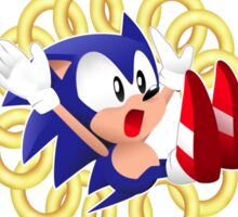 Classic Sonic - Ring loss  Sticker
