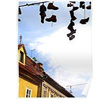 Shoes, Ljubljana, Slovenia Poster