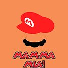 Mario Mamma mia! by NateSempai