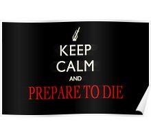 Just prepare to die Poster